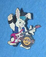 HARD ROCK CAFE 2009 Copenhagen Easter Rockin' Bunny Playing Guitar Pin # 48907