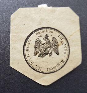 Siegelmarke-Vignette-Ersatz-Bataillon-Infanterie-Regiment-No-16-1-7718-1