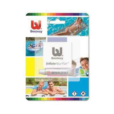 Kit riparazione piscine Bestway con colla e toppa per frame steel fast ed easy