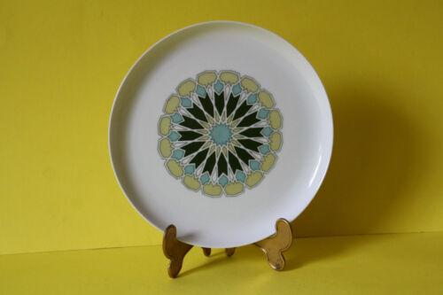 Melitta Budapest grüne Blüte Kuchenteller Teller 19 cm