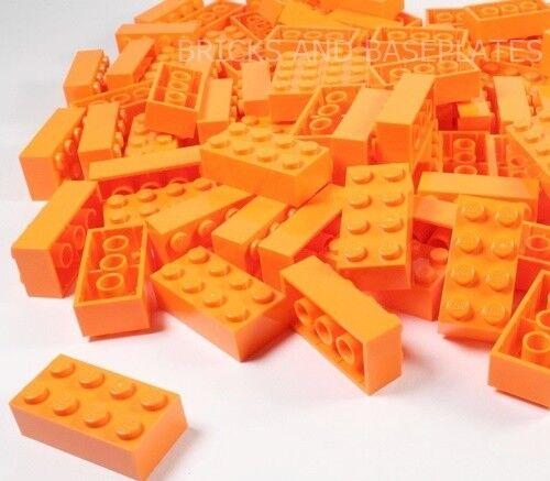 Spedizione gratuita per tutti gli ordini LEGO Mattoni 200 x ARANCIO 2x4 PIN-Set da Nuovo di di di Zecca inviati in un sacchetto trasparente sigillati  scelte con prezzo basso
