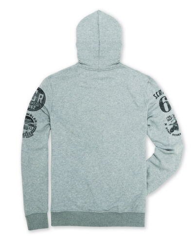 Sweater Sweat Grey Nuevo Hoodie Ducati Scrambler Hooded Jacket Utah w088OYqP