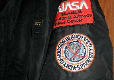 Patch Blauer Originale Nasa Da Bomber Giubbotto city of houston space city