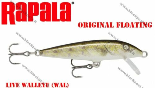 DIFFERENT COLORS Rapala ORIGINAL FLOATING Brand new FLOATER F07 7 cm