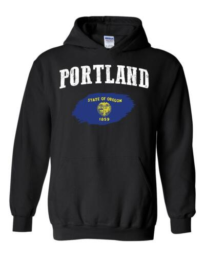 Portland Oregon Unisex Hoodie Hooded Sweatshirt