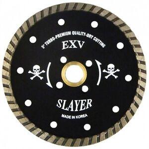 """Slayer Supreme Granite Turbo Diamond Blade 4 1//2/"""""""