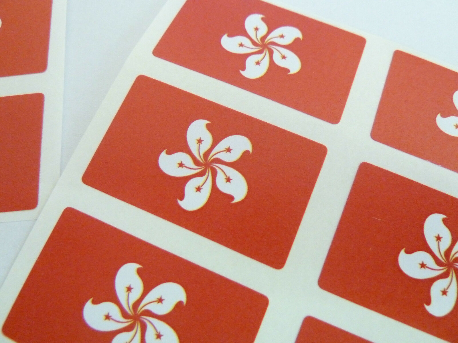 Mini Sticker Pack Self-Adhesive Peru Flag Labels FR212