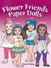 Flower Friends Paper Dolls by Diana Vining (Paperback, 2015)