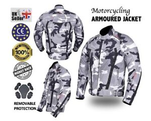 Motorbike-Motorcycle-Camo-Jacket-Cordura-Textile-Jacket-CE-Approved-Armour