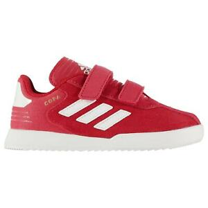 adidas-Copa-Suede-Trainers-Sports-Shoes-Low-Top-Infants-Boys-Strap-Hook-and-Loop