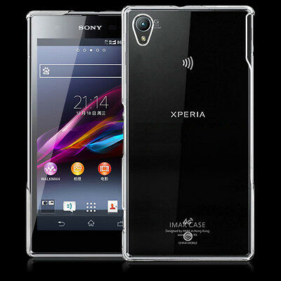Transparent Crystal Hard Cover Case Skin Shell For Sony Xperia Z1 Z2 Z3 Compact