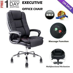Awesome Details About Office Massage Chair High Back Pu Leather Gaming Seat Reclining Computer Chair S Ncnpc Chair Design For Home Ncnpcorg