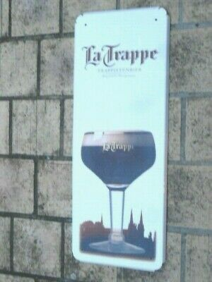 Plaque émaillée publicitaire émail Véritable Bière Mosellane BROCANTE AFFAIRE!