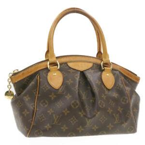 LOUIS VUITTON Monogram Tivori PM Hand Bag M40143 LV Auth 20053