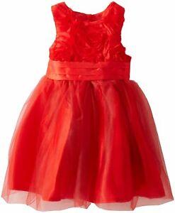 b8738cf33e76c Mud Pie Noël Vacances Meilleur Petite Fille Tout-Petit Rouge Rosette ...