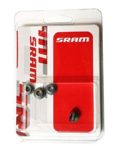 Grey SRAM Chainring Bolt Kit XX1-4 Bolts 11.6918.001.000 Aluminium