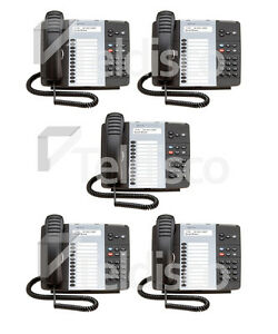 Mitel Phone Bundle: 5 x Mitel 5212 IP Phone Dual Mode (50004890)