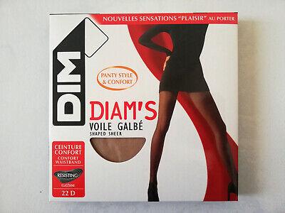 DIM DIAMS VOILE GALBE Taille 4  NOIR LOT DE 2 boites de collants