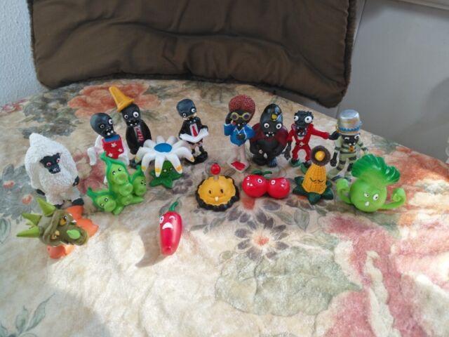 16ps//set novas plantas Vs zumbis Brinquedos Bonecos de ação do Anime Presente Infantil Pvc Pvz