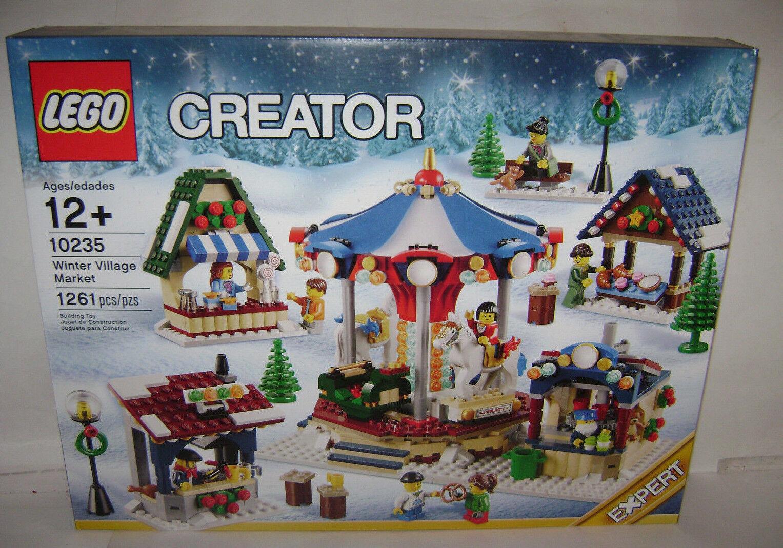 il prezzo più basso Nuovo 10235 Lego CREATOR Winter Village Market costruzione giocattolo giocattolo giocattolo SEALED scatola RETIrosso A  risparmiare sulla liquidazione