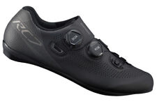 Shimano Rc7 Carbon Road Cycling Bike Shoes Black Sh-rc701 Wide Width 45e US 10.5