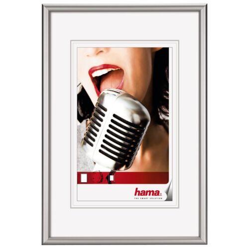 Hama 61048 Aluminiumrahmen Alu Bilderrahmen Chicago Silber 40x60cm