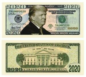 100-pack-of-Trump-2020-Re-Election-Presidential-Novelty-Dollar-Bills-FREE-SHIP