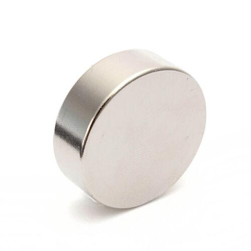 20pcs Strong 8mm x 2mm Thin Disc 8x2 Neodymium DIY Fridge Magnets