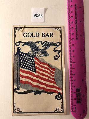 Lithograph Label Alabama Olin Pride Rare 1920-30's