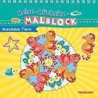 Reise-Rücksitz-Rätselblock Mandalas Tiere. Ab 5 Jahren (2015, Moderner Einband)