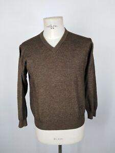 NAVIGARE-MAGLIONE-in-LANA-Maglioncino-Sweater-Cardigan-Pullover-Tg-L-Uomo