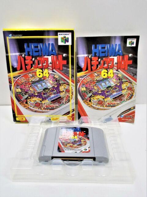 N64 -- Heiwa Pachinko World 64 -- Boxed. Can Backup! Nintendo 64, JAPAN. 19112