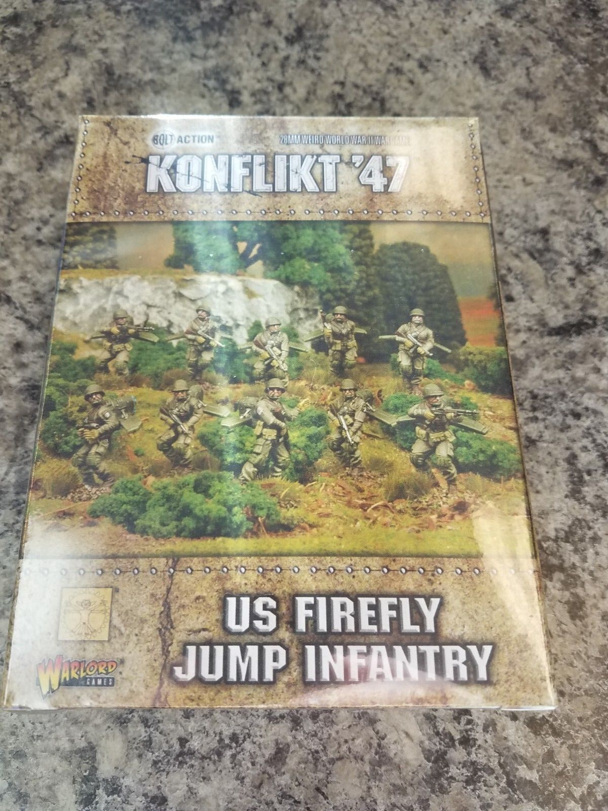 Firefly Springen Infanterie Us Army Konflikt '47 Warlord Games Modell Neu