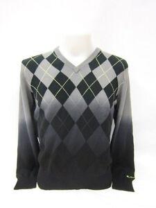 Ben V Schwarz Pullover Grau Sherman neck Gelb 5306 rRqUwraP6