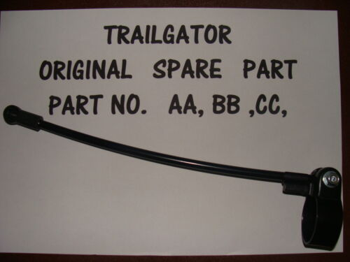 TRAILGATOR TOW BAR SPARE PARTS CLAMP AA BOLT BB ROD CC