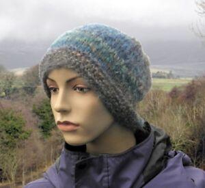 Seamless Beanie Hat On Circular Needle Knitting Pattern