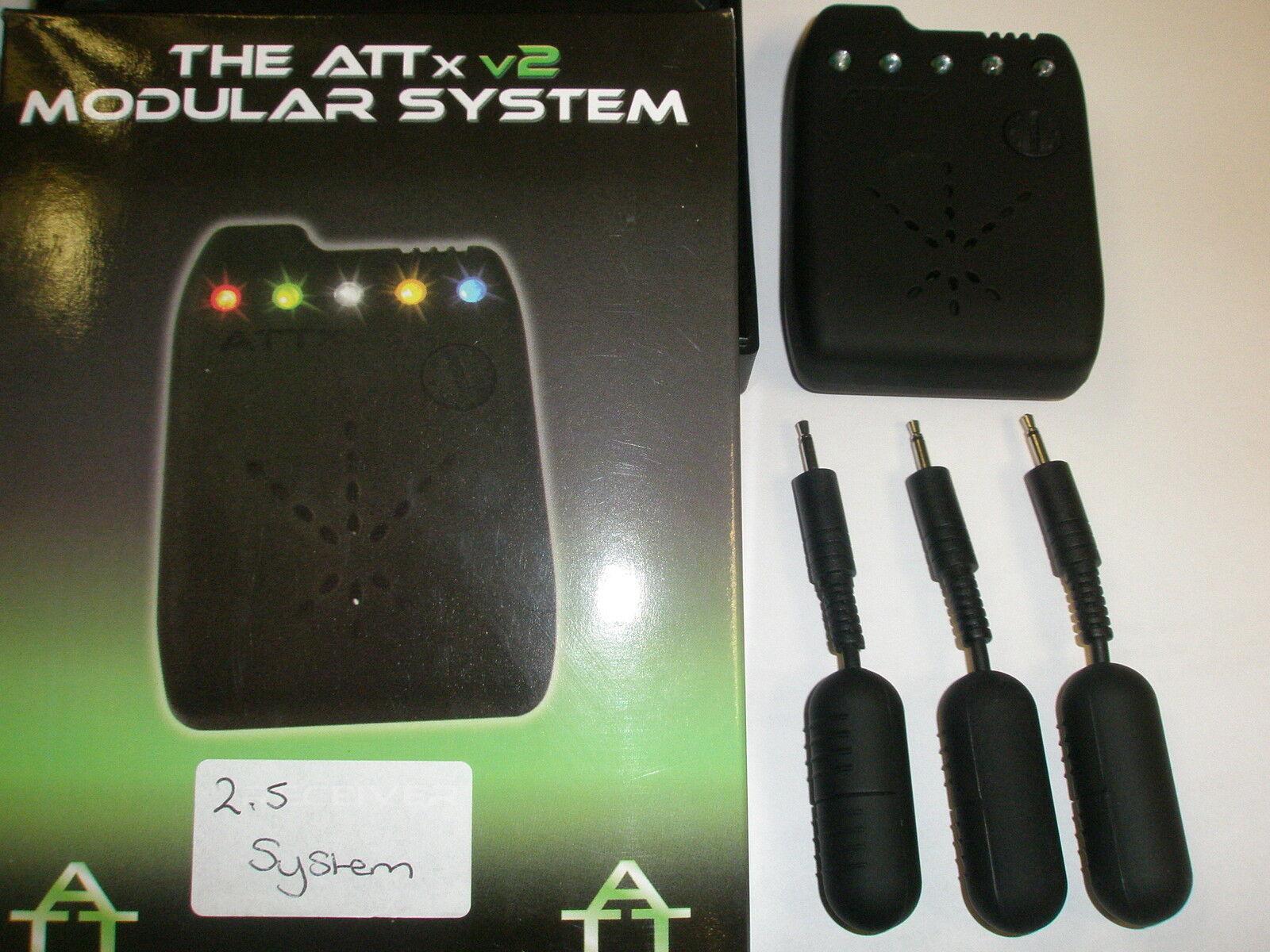 ATTx V2 sendenden system 2.5mm Multi Multi 2.5mm LED Karpfenangeln Empfänger bbbd29