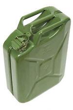 Jerrican (jerrycan) US essence et gasoil en metal 20 litres