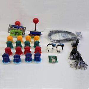 Arcade-joystick-kit-2-players-complete