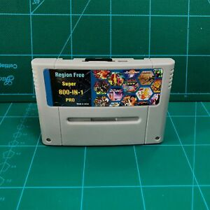 Pro Remix Video Game For SNES Cartridge Card USA \EUR 800 In 1 Super Consoles 8G