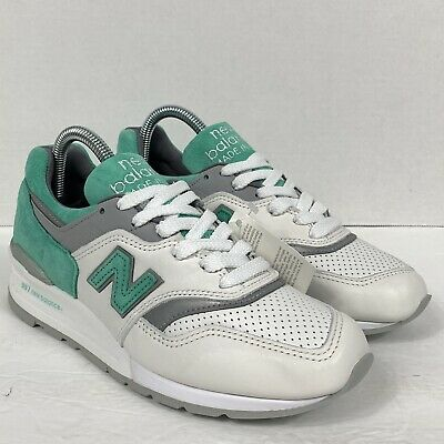 27 Rare New Mens DS New Balance 997 Mint Green White Shoes Sz 5-10.5 M997CMA