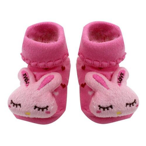 Baby Boys Girls Anti slip Non Slip Cotton Socks 1 Pairs Size 1 months to 3 years