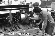 Agenzia stampa internazionale foto RAUL BOESEL F1 MARZO 1982 GRAND PRIX STAGIONE