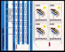 Dinamarca 901 **, en markenheftchen (FACIT hs 45), arte