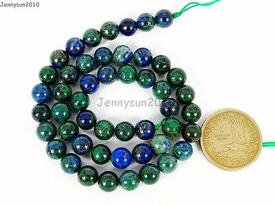 Natural Lapis Lazuli Chrysocolla Gemstone Round Beads 16'' 4mm 6mm 8mm 10mm 12mm