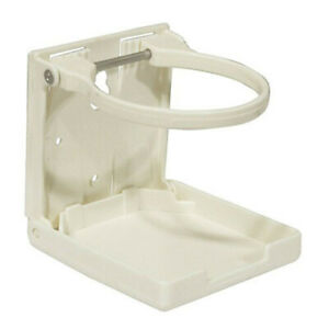 WHITE-Versatile-High-Quality-Plastic-Folding-Drink-Holder-with-Adjustable-Arms