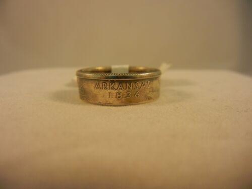 Arkansas NWOT Handmade State Quarter Ring
