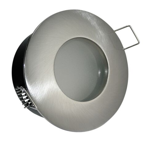 Feuchtraum Bad Dusche Aqua Einbauleuchte wasserfest 12V oder 230 Volt GU10 MR16
