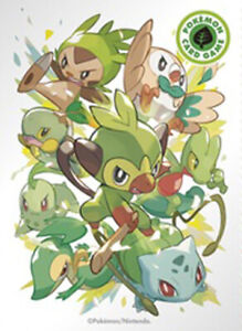Pokemon Center Japan Type Fighters Leaf Grookey 64 Sleeves Ebay Grookey is the pokemon whish has one type (grass) from the 8 generation. ebay