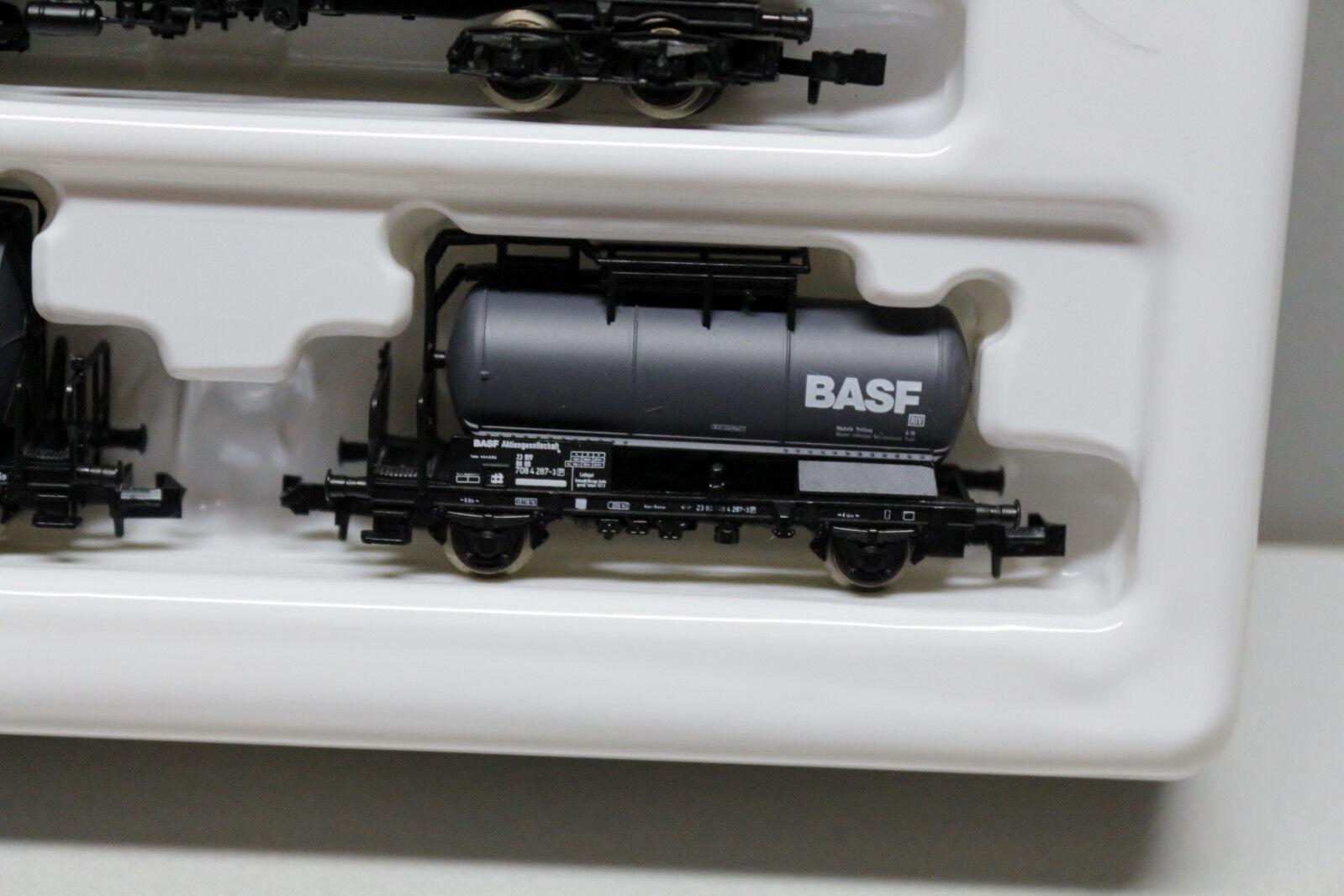 Roco 24010 Wagen-Set Kesselwagen 4-teilig BASF Spur N OVP OVP OVP  | Ästhetisches Aussehen  f69e3f